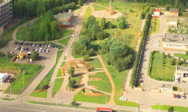Ометьевский лес Парк летом