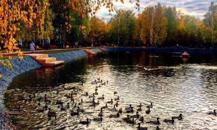 где можно погулять в Казани