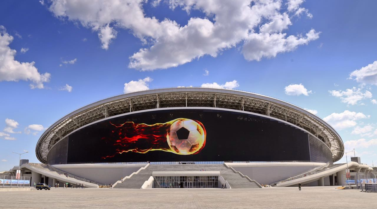видео фасад казань арена