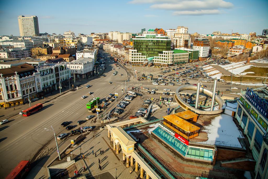 Вид с Гостиницы Татарстан