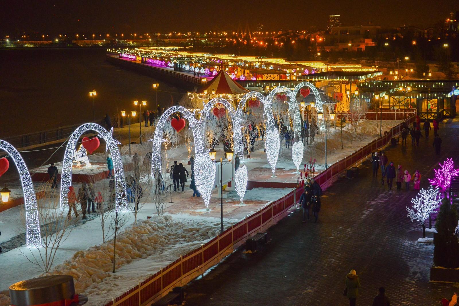 Набережная Казань